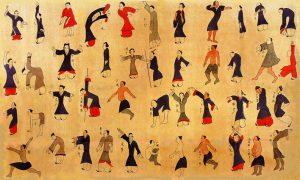 "Das ""Daoyintu"", Seidenmalerei aus den Gräbern von Mawangdui"